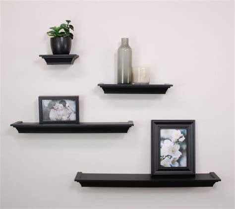 floating black shelves top 20 small wall shelves to buy