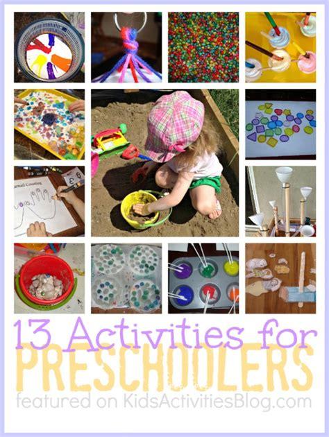 projects for preschoolers 13 activities for preschoolers