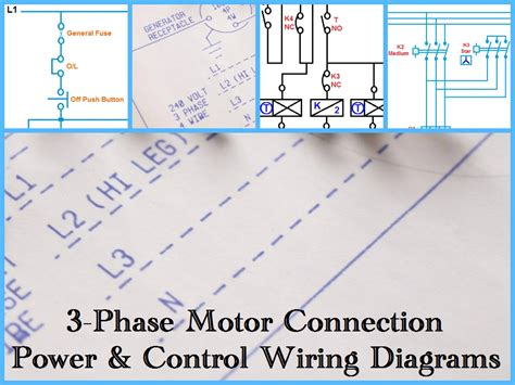 3 Phase Motor by Three Phase Motor Power Wiring Diagrams