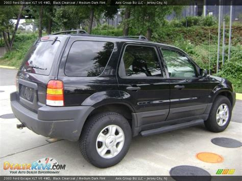 2003 Ford Escape Xlt by 2003 Ford Escape Xlt V6 4wd Black Clearcoat Medium