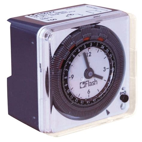 electrical timer flash compact 24hr analogue timer electrical tool and