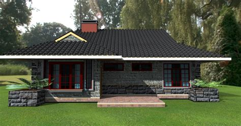 3 bedroomed house designs deluxe 3 bedroom bungalow plan david chola architect