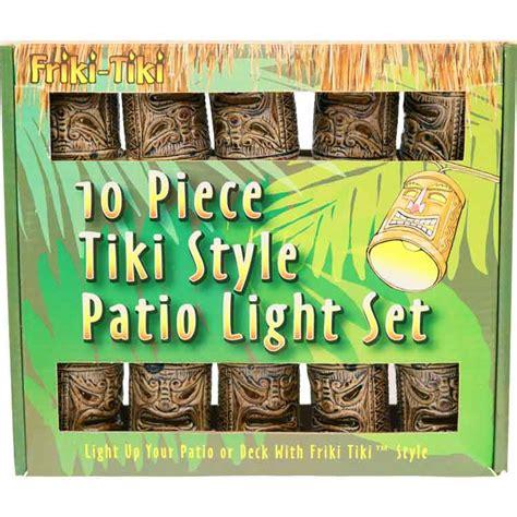 bamboo string lights bamboo style tiki god mask patio string lights