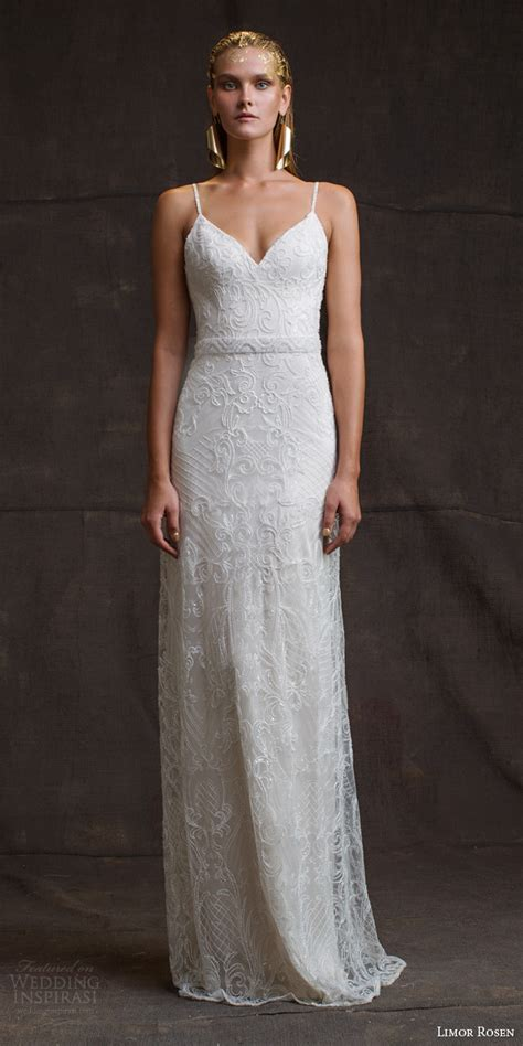 beaded straps for wedding dress limor 2016 wedding dresses treasure bridal