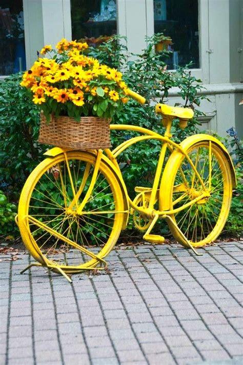 bicycle flower planter top 25 best bike planter ideas on bikes