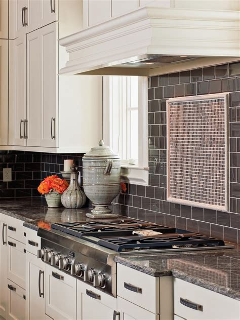 pictures of subway tile backsplashes in kitchen glass backsplash ideas pictures tips from hgtv kitchen ideas design with cabinets
