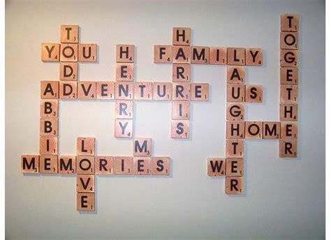 names in scrabble letters remodelaholic scrabble living large family names