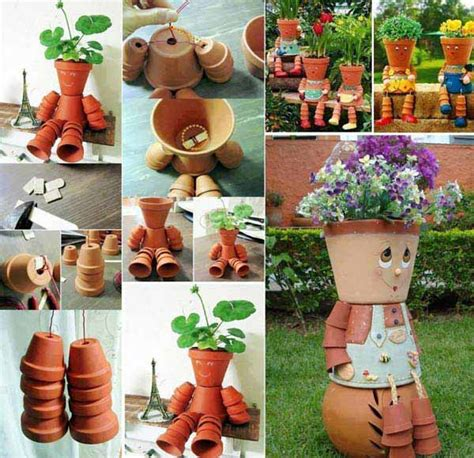 clay pot craft projects 26 budget friendly and garden projects made with clay