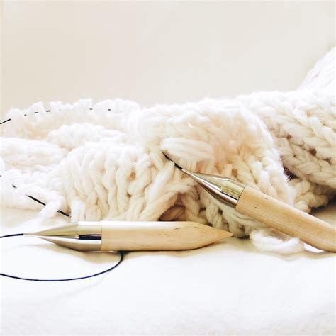 knitting blanket with circular needles circular knitting needle us size 50 25 mm design the