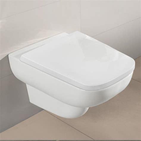Villeroy Boch Flush Toilet by Villeroy Boch Joyce Wall Mounted Washdown Toilet Open