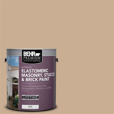 home depot masonry paint colors behr 1 gal white flat masonry stucco and brick paint