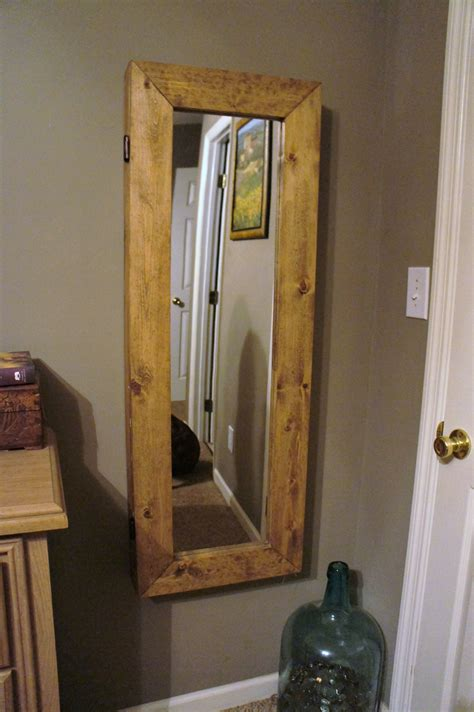 how to make a jewelry armoire white mirror jewelry armoire diy projects