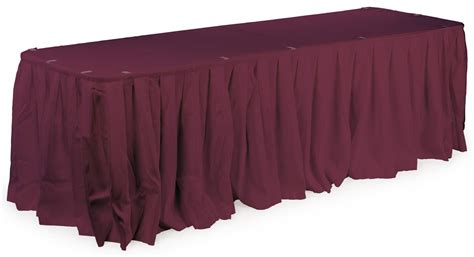 table skirts banquet table skirting box pleated for