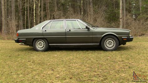 how things work cars 1985 maserati quattroporte head up display 1985 maserati quattroporte upscale ultra excellent condition