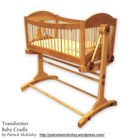 bassinet woodworking plans wooden cradle plans woodideas