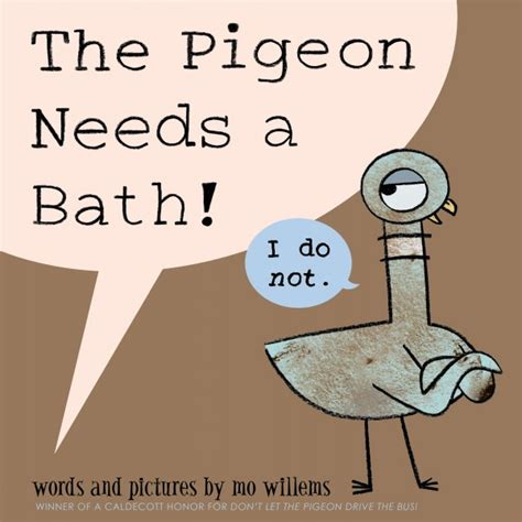 pigeon picture books new book by mo willems the pigeon needs a bath