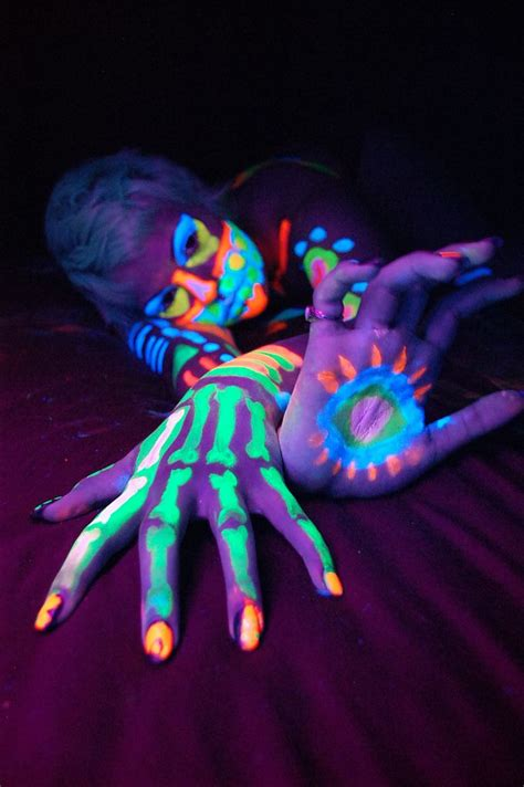 glow in the paint blacklight glow in the paint xoxo of