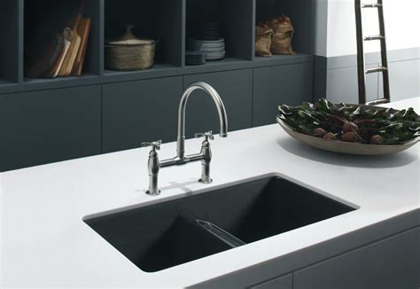 kitchen sink and countertop undercounter sink white kitchen black countertop with