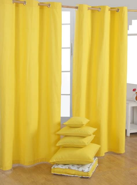 63 Panel Curtains by Yellow Ready Made Curtains Modern Curtains Other