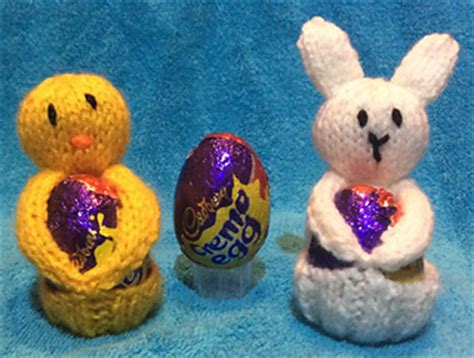 easter egg knitted covers ravelry bunny and easter egg covers pattern