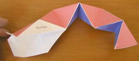 how to make paper toys origami chapter 9 mathematics the kaleidocycle a fascinating