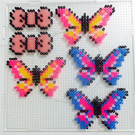 perler bead butterfly 74 best images about hama butterfly on perler