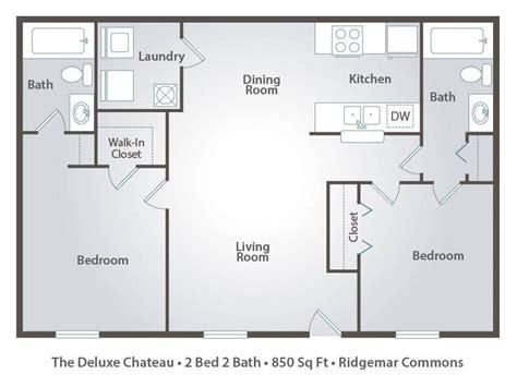 2 bedroom 2 bath floor plans apartment floor plans pricing ridgemar common in gainesville fl