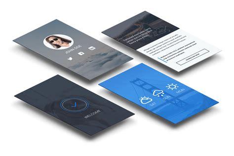 app for business cards business card design app i like vertical business cards