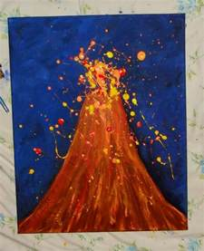 volcano crafts for 15 best images about volcano unit on