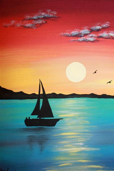 easy acrylic paint easy landscape acrylic painting www pixshark