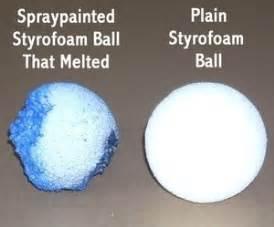 spray painting styrofoam how to paint styrofoam thriftyfun