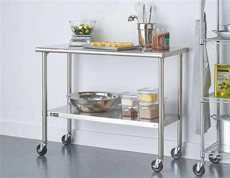 stainless kitchen islands stainless steel kitchen island the pros cons