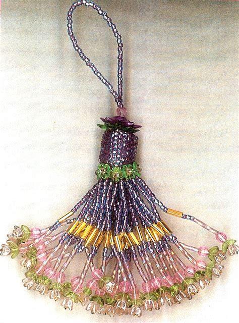 beaded tassel floral cascade beaded tassel kit