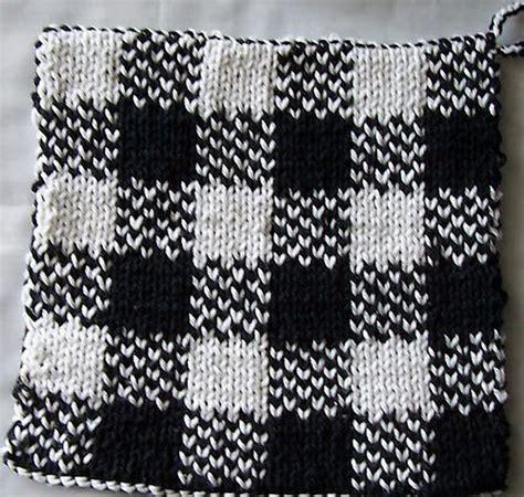 pattern holder knitting knit pot holder knitting