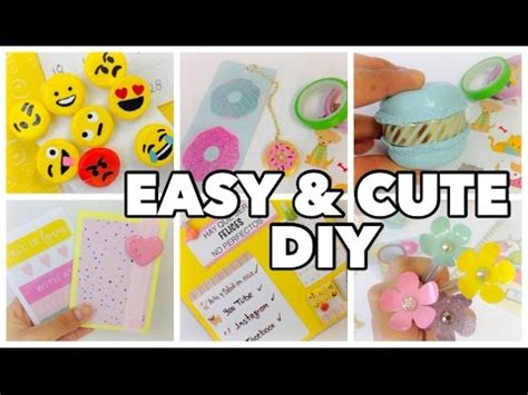 easy crafts for to make at school diy school supplies 6 easy diy crafts for back to school