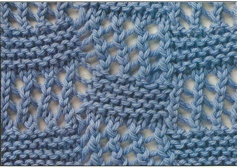 how to skpo in knitting bias lace squares learn this pretty knitting stitch