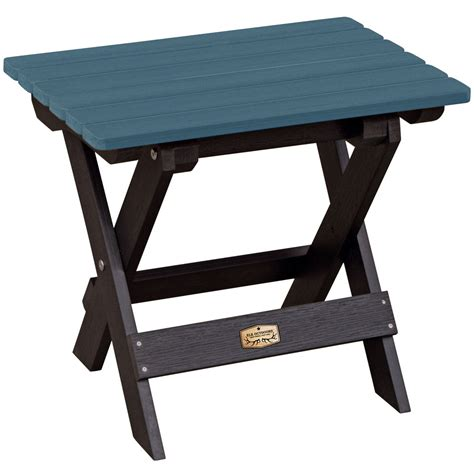 folding patio table folding side table in patio side tables