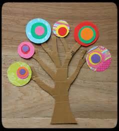 craft paper tree uncategorized easycraftsforchildren