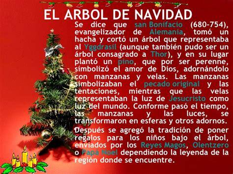 la historia arbol de navidad arbol de navidad