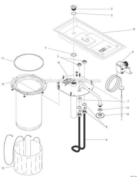 BUNN A10 Parts List and Diagram : eReplacementParts.com