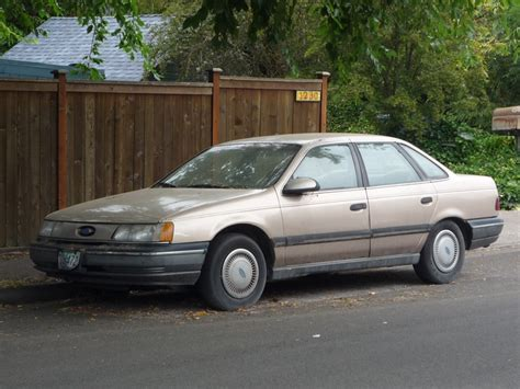 1986 Ford Taurus by Curbside Classic 1986 Ford Taurus Mercury At This