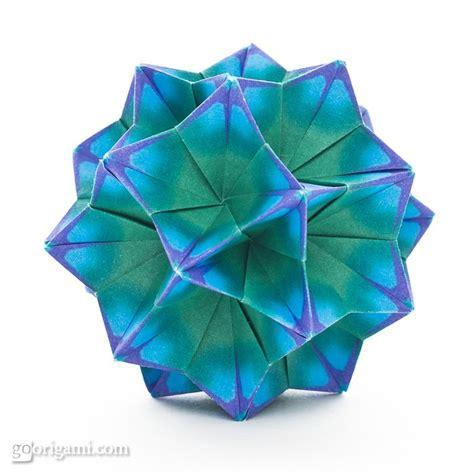 origami kusadama bellflower kusudama by tomoko fuse go origami