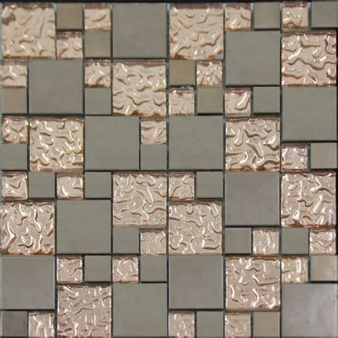 kitchen wall tile patterns copper glass and porcelain square mosaic tile designs
