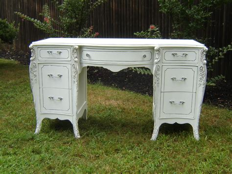 white shabby chic desk antique white ornate desk shabby chic furniture