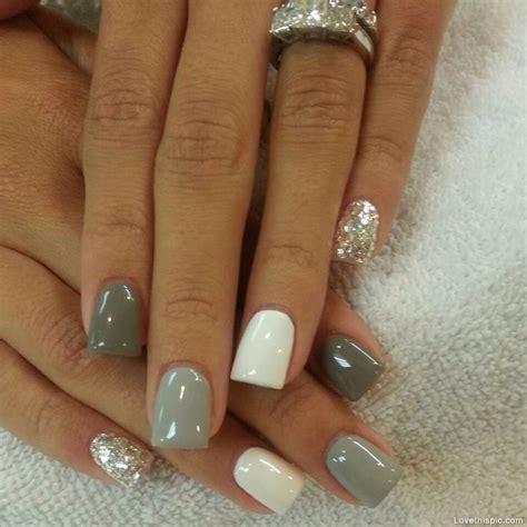 different shades of gray different shades of grey nails