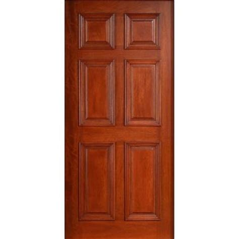 solid exterior door home depot 32 in x 80 in solid mahogany type prefinished antique 6