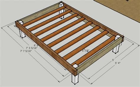 measurements of size bed frame measurements of a size bed frame 28 images