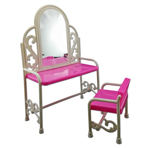 Oval Office Furniture set vanity mirror desk chair 1 6 scale barbie doll s house