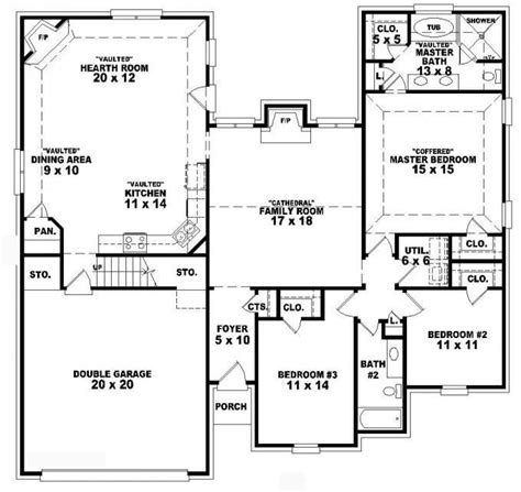 3 bedroom 3 bath house plans 3 bedroom 2 bath 1 story house plans beautiful plain house floor plans 3 bedroom 2 bath story