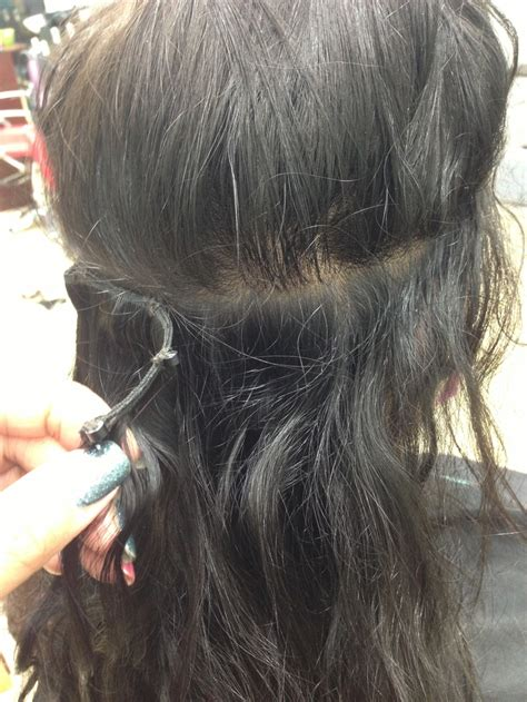 micro link micro link weft extensions extensions using micro links